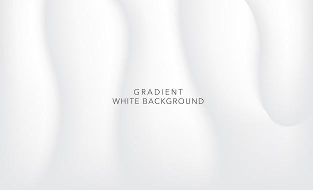 Gradientowe białe tło