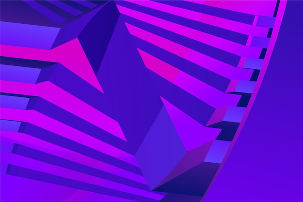 Gradientowe fioletowe abstrakcyjne tło