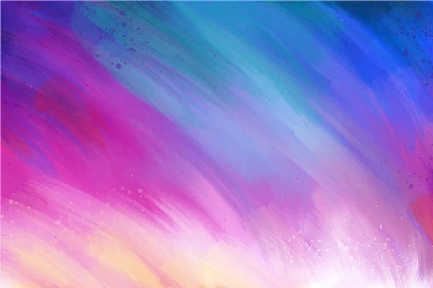 Gradientowe fioletowe i niebieskie kolory tła z miejsca kopiowania