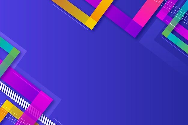 Gradientowe kolorowe tło