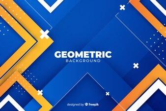Gradientowe kształty geometryczne tło