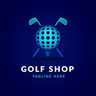 Gradientowe logo golfa