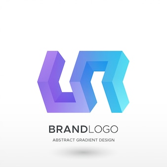 Gradientowe logo onz