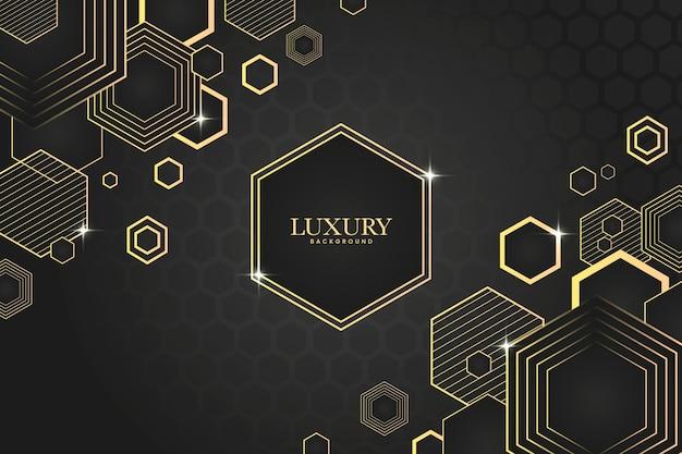 Gradientowe luksusowe tło