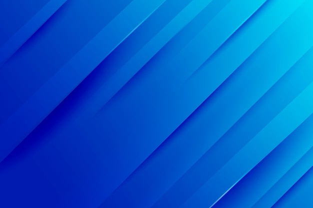 Gradientowe niebieskie dynamiczne linie tła