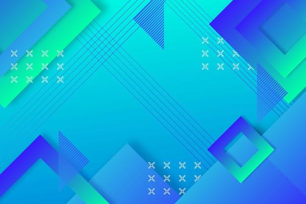 Gradientowe niebieskie tło abstrakcyjne