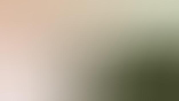 Gradientowe, niewyraźne oliwkowo-zielone, szarpie, muszelka muszelkowa, kremowe tło gradientowe tapety