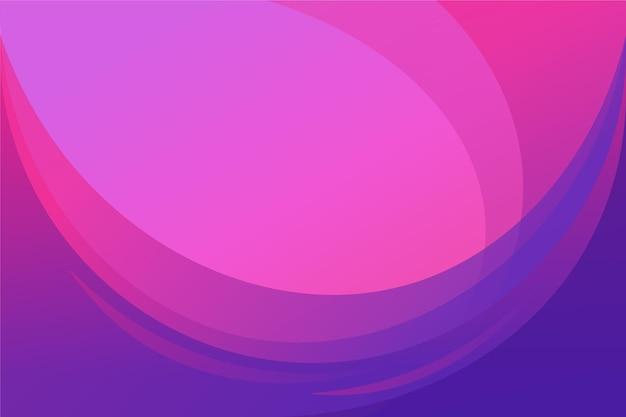 Gradientowe różowe abstrakcyjne tło