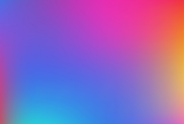 Gradientowe siatki rozmazane tło w delikatnych kolorach tęczy.