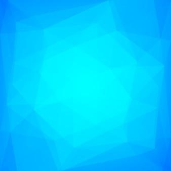 Gradientowe streszczenie tło trójkąt kwadratowy. fajne wielokątne tło w kolorze lodu dla aplikacji mobilnych i sieci web. modny geometryczny streszczenie transparent. ulotka koncepcja technologii. mozaika w stylu.