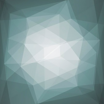 Gradientowe streszczenie tło trójkąt kwadratowy. szare kolorowe tło wielokątne dla aplikacji mobilnych i sieci web. modny geometryczny streszczenie transparent. ulotka koncepcja technologii. mozaika w stylu.