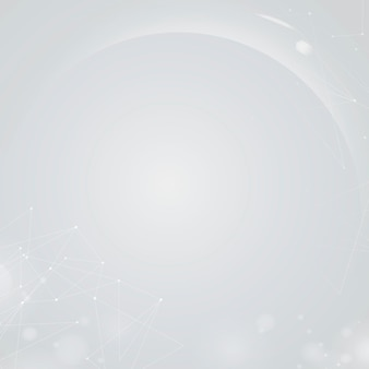 Gradientowe szare futurystyczne cyfrowe tło bokeh
