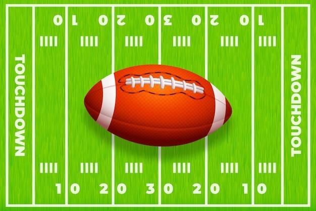 Gradientowe tło boiska do piłki nożnej