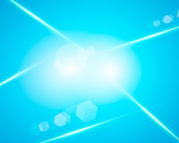 Gradientowe tło z efektem niebieskiego światła