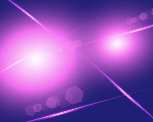 Gradientowe tło z różowym i fioletowym efektem świetlnym