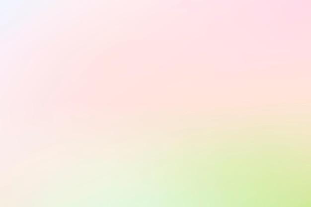 Gradientowy wektor tła w wiosennym jasnoróżowym i zielonym
