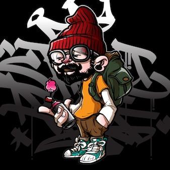 Graffiti postać