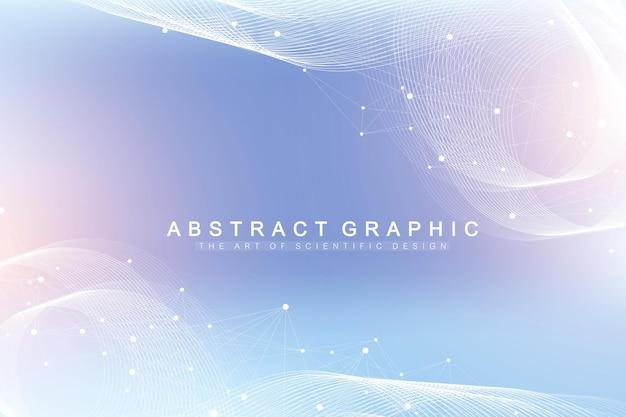 Graficzna wielokątna ilustracja wektorowa tła