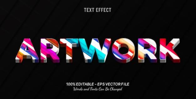 Graficzny efekt tekstowy