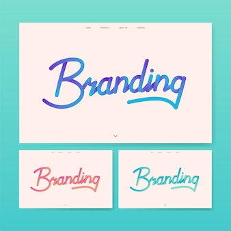 Graficzny serwis informacyjny marki handlowej