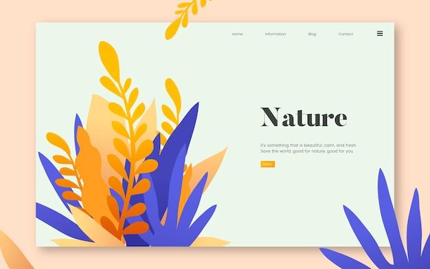Graficzny serwis informacyjny przyrody i roślin