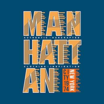 Graficzny streszczenie projektu tekstu manhattan