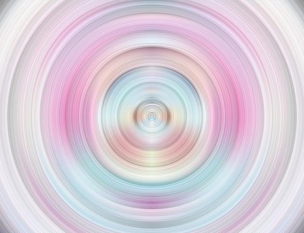 Grafika ruchu z projektem circle art z tłem w kształcie fali