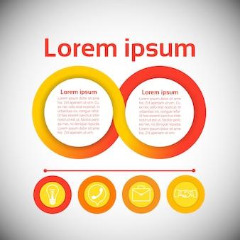 Grafika setu finanse ikony biznesu infographic pojęcie