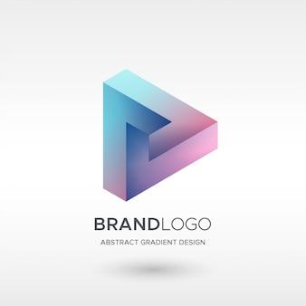 Graj w gradient logo