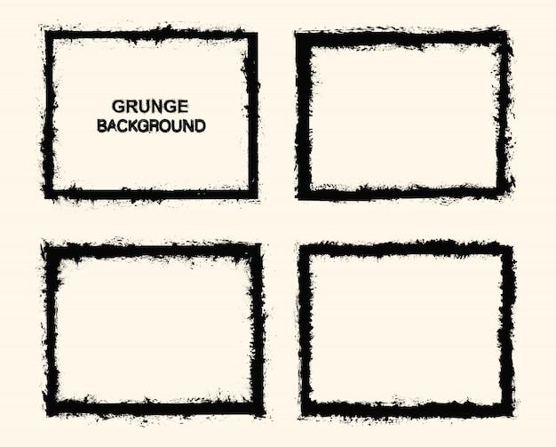 Graniczne ramki grunge