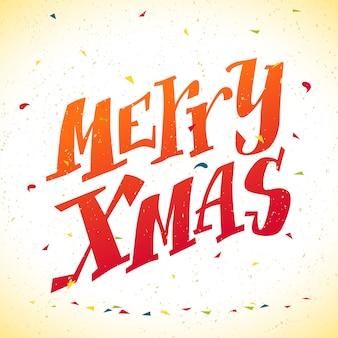 Gratulacje noworoczne. ilustracja gratulacje karta xmas. element karty świątecznej. wesołych świąt, szczęśliwego nowego roku karta pamięci, projekt reklamy. śmieszne litery.