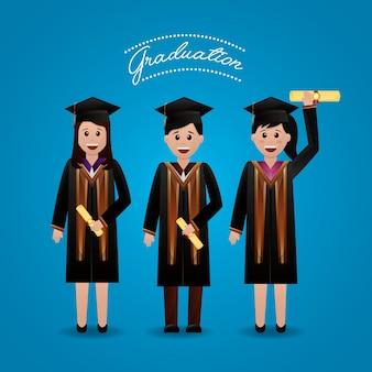 Gratulacje ukończenia szkoły