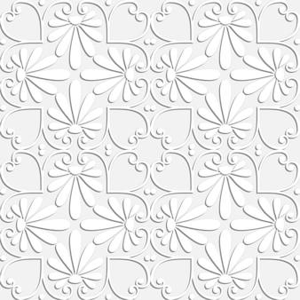 Grecki wzór kwiatowy