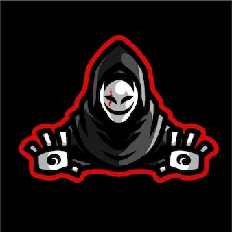 Grim reaper maskotka