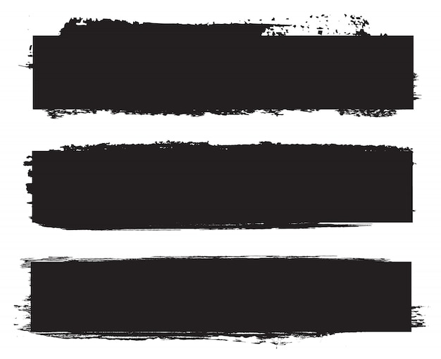 Grunge czarne sztandary