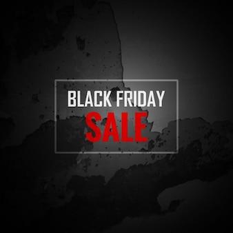 Grunge czarny piątek sprzedaży tła