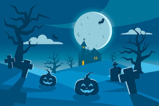 Grunge halloween tapety