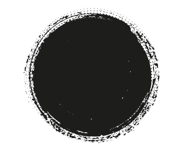 Grunge okrągłe ramki