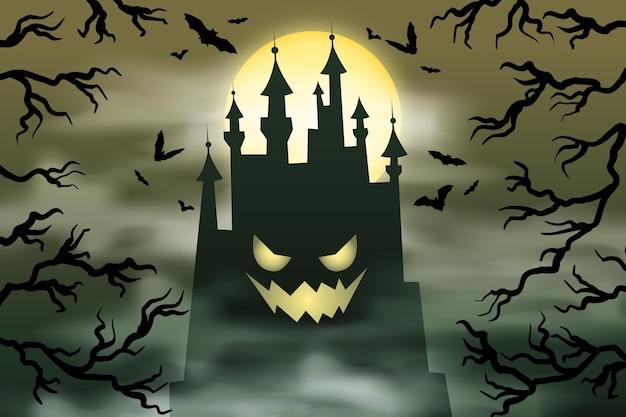 Grunge projektowania tła halloween
