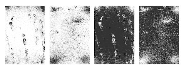Grunge prostokątne ramki abstrakcyjne brudne tekstury tła