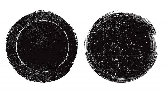 Grunge teksturowane pieczęć