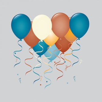 Grupa balonów