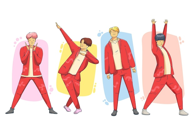 Grupa chłopców k-pop