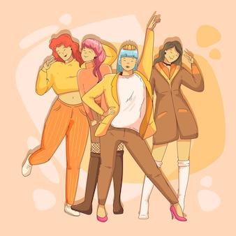 Grupa dziewczyn k-pop
