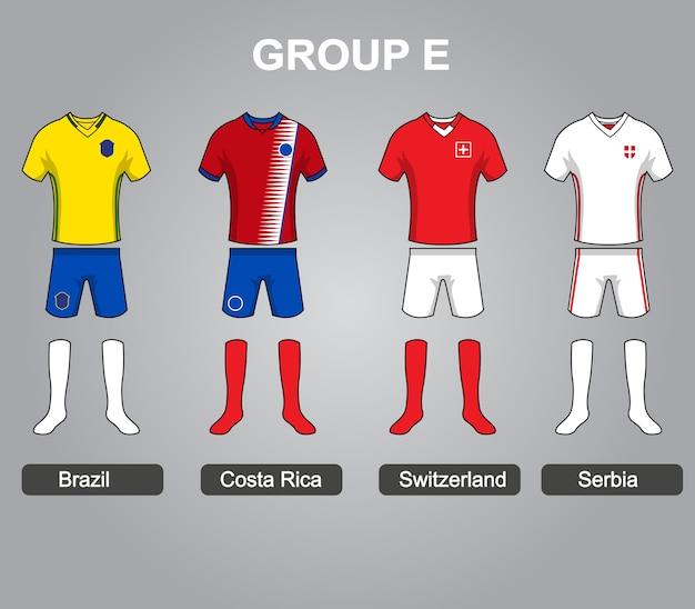 Grupa e team jersey