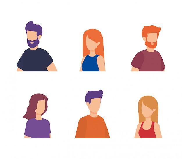 Grupa postaci ludzi