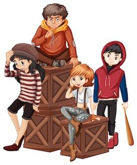 Grupa problemowego nastolatka