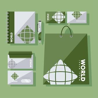 Grupa symboli tożsamości korporacyjnej