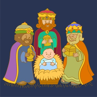 Grupa trzech królów