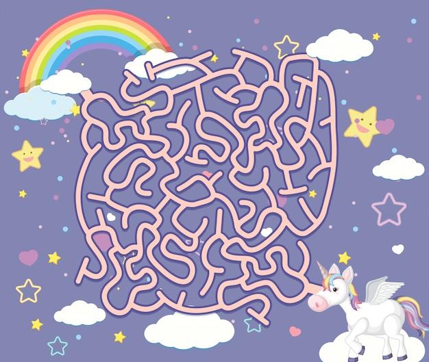 Gry logiczne unicorn maze